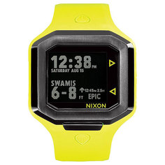 Электронные часы Nixon Ultratide Neon Yellow/Gunmetal