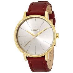 Часы женские Nixon Kensington Leather Gold/Saddle