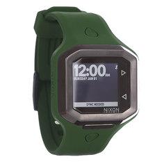 Часы Nixon Ultratide Olive/Gunmetal