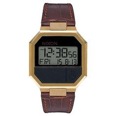 Электронные часы Nixon Re Run Leather Brown Croc