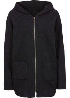 Короткое пальто в стиле оверсайз (светло-кофейный) Bonprix