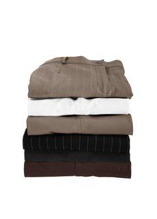 Широкие брюки стретч (черный/белый в полоску) Bonprix