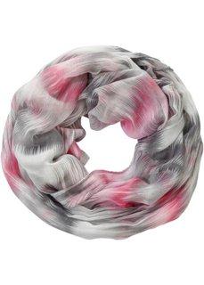 Разноцветный шарф снуд (черный/серый) Bonprix