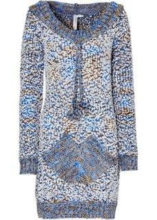 Пуловер (розовый с рисунком) Bonprix