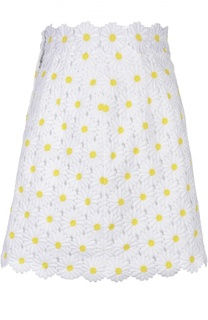 Кружевная юбка А-силуэта Dolce & Gabbana
