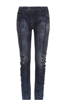 Зауженные джинсы с заниженной линией шага 11 by Boris Bidjan Saberi