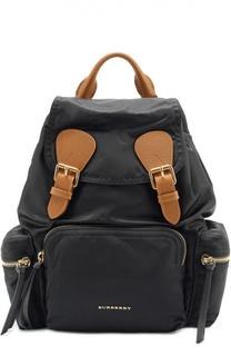 Рюкзак с отделкой из кожи Burberry Prorsum