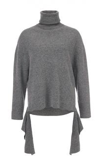 Шерстяной свитер асимметричного кроя Balenciaga
