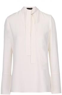 Блуза прямого кроя с воротником аскот Proenza Schouler
