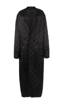 Удлиненное стагеное пальто с поясом Haider Ackermann