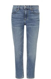 Укороченные джинсы прямого кроя с завышенной талией Denim X Alexander Wang