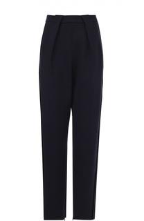 Укороченные брюки прямого кроя с защипами Balenciaga