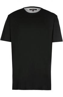 Хлопковая футболка с круглым вырезом Michael Kors