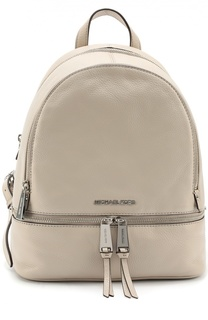 Кожаный рюкзак Rhea Zip Small Michael Michael Kors