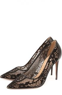 Туфли Fusion Lace с кружевной отделкой Valentino