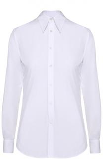 Приталенная хлопковая блуза Ralph Lauren