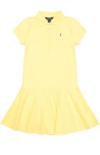 Платье джерси с коротким рукавом Polo Ralph Lauren
