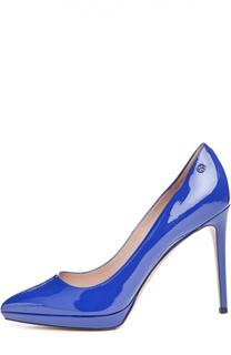 Лаковые туфли Giedre с зауженным мысом Gucci