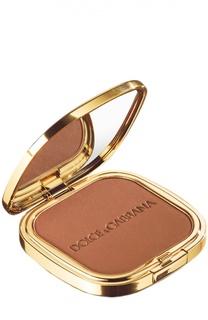 Пудра c эффектом Загара Glow Bronzing Powder тон 40 Bronze Dolce & Gabbana