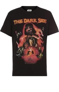 Хлопковая футболка с принтом Star Wars Elevenparis