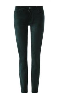Бархатные джинсы-скинни Paige