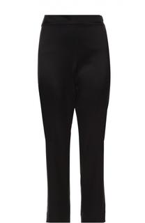 Укороченные брюки прямого кроя с завышенной талией St. John