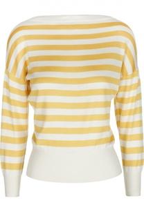 Шелковый вязаный пуловер Dolce & Gabbana