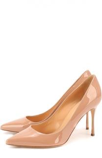 Лаковые туфли Godiva на шпильке Sergio Rossi