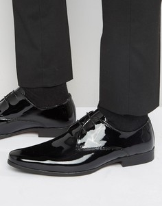 Лакированные кожаные туфли-оксфорды Kg By Kurt Geiger - Черный