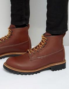 Кожаные ботинки Red Wing Ice Cutter - Коричневый