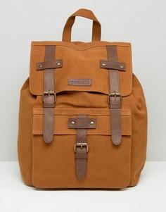 Коричневый кожаный рюкзак Barneys - Коричневый Barneys Originals