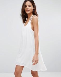 Пляжное платье на бретельках Echo - Белый