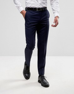 Брюки слим Burton Menswear - Темно-синий