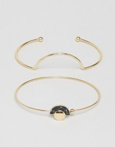 Комплект из двух браслетов Nylon - Золотой