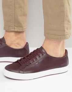 Кожаные кроссовки Kickers Tovni - Красный