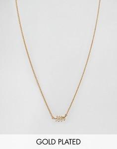 Ожерелье Gorjana Olympia - Золотой
