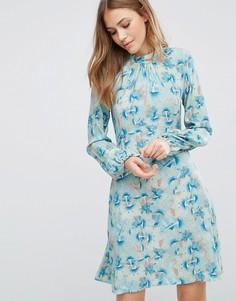Платье с цветочным принтом Closet - Мульти
