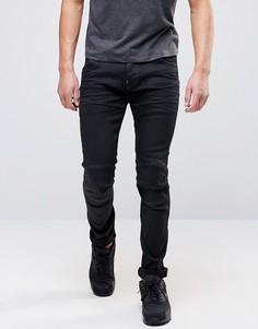 Суперузкие джинсы стретч G-Star Slander - Черный