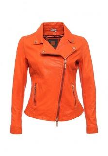 Куртка кожаная Boss Orange