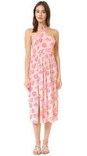 Платье с принтом в виде грейпфрута и завязками сзади Wildfox