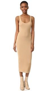 Платье в рубчик без рукавов Dion Lee
