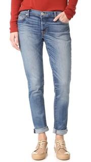 Простые узкие Бойфренд-джинсы Riley Hudson