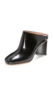 Туфли без задников с закрытым носком Maison Margiela