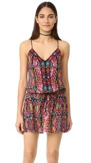 Пляжное платье индейская мозаичным Nanette Lepore