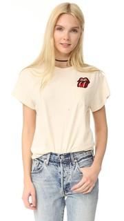 Перекати карман накладные футболка Madeworn Rock