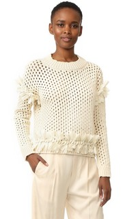 Пуловер с бахромой Elizabeth M.Patmos