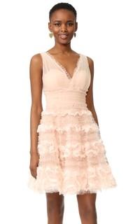 Коктейльное платье из тюля Marchesa Notte