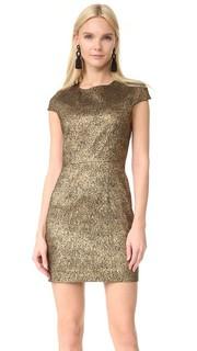 Платье с Hadlie двухцветного Diane von Furstenberg