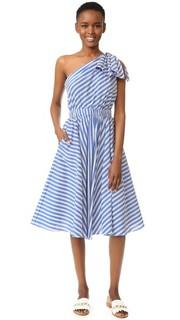 Платье в полоску в Шелкового Anna Milly