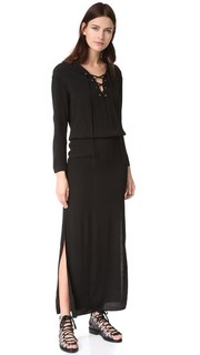 Макси-платье со шнуровкой Monrow